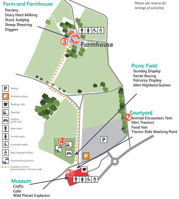 National Museum of Rural Life & Country Fair MAP