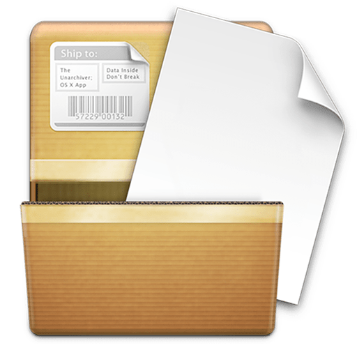 The Unarchiver software icon