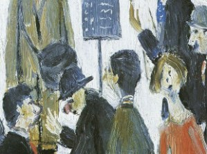 L. S. Lowry, The Holcombe Races, 1954