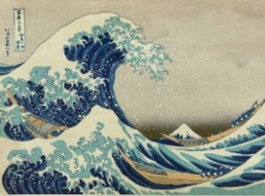 "Hokusai, The Great Wave"" (c. 1830)"