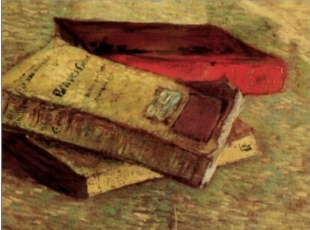 "Vincent Van Gogh, ""Still Life with Three Books"" (1887)"