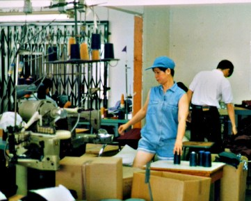 """""""Working together in a new country, my parents created a thriving business producing clothing such as blouses, dresses, and skirts for local brands."""""""