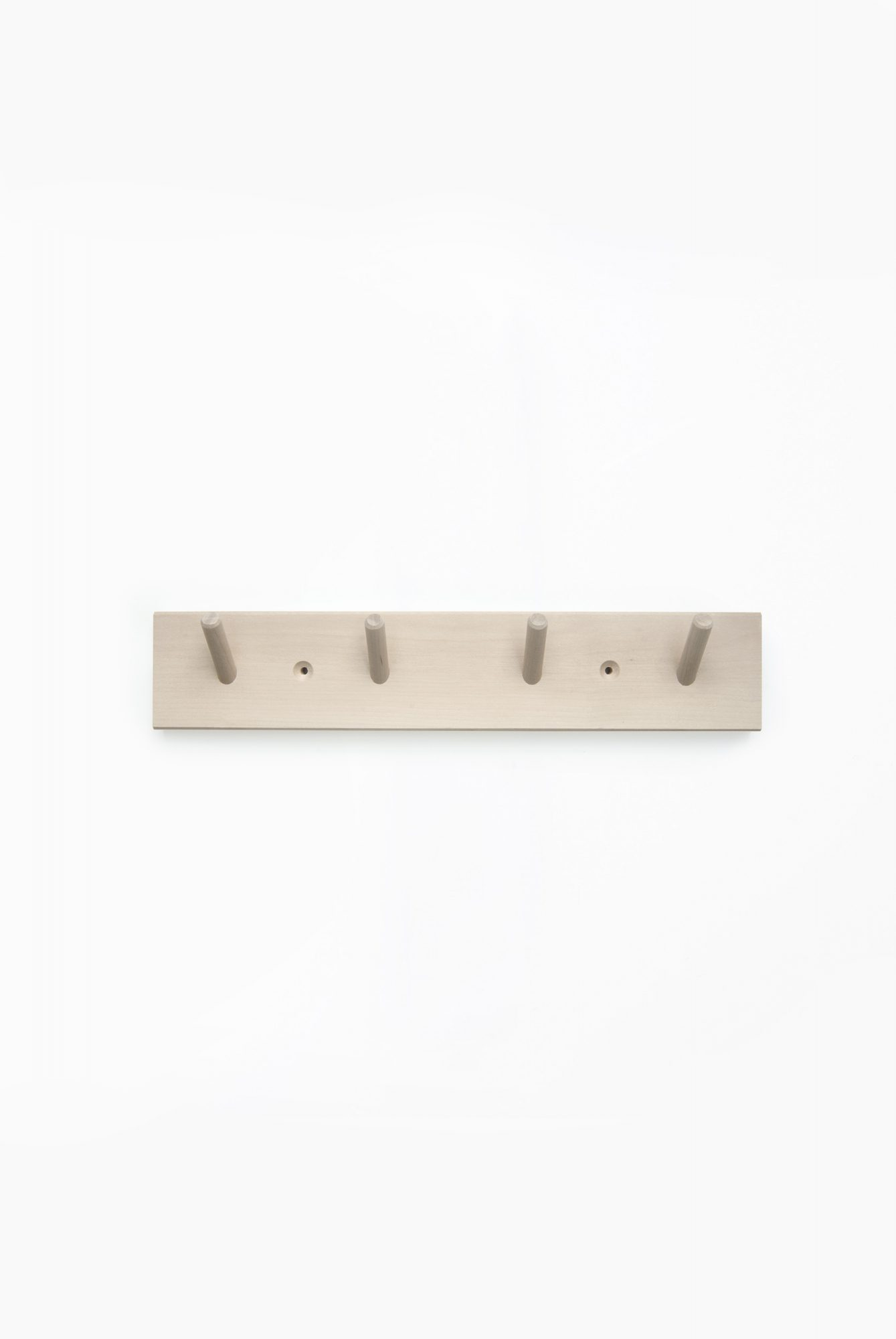 wooden rack with 4 hooks