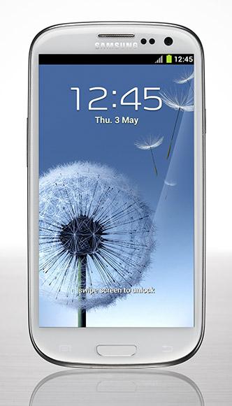 Samsung Galaxy S3 White Image Copyright Samsung