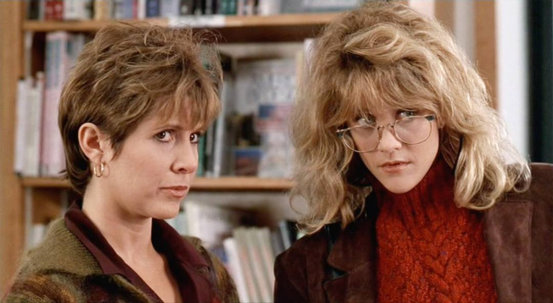 Image result for carrie fisher in harry met sally