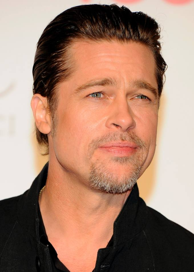why did brad pitt dye his hair? it wasn't because he wanted