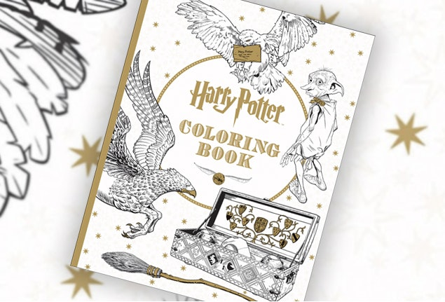 This Harry Potter Coloring Book For Grownups Is Every