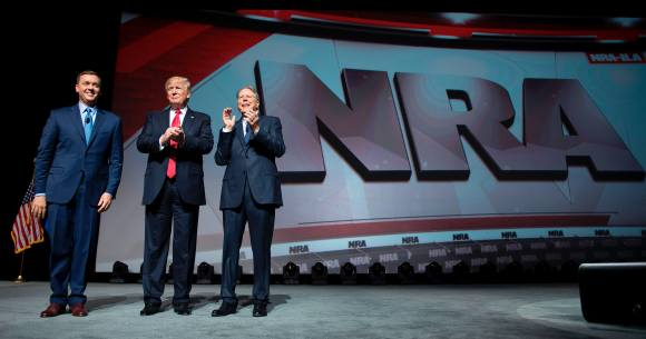 How Much Did The NRA Spend On Getting Trump Elected? They Broke Their Record For Campaign Spending