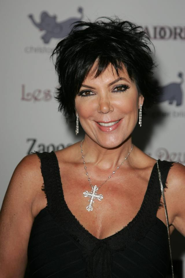 is kris jenner's blonde hair real? she's channeling serious