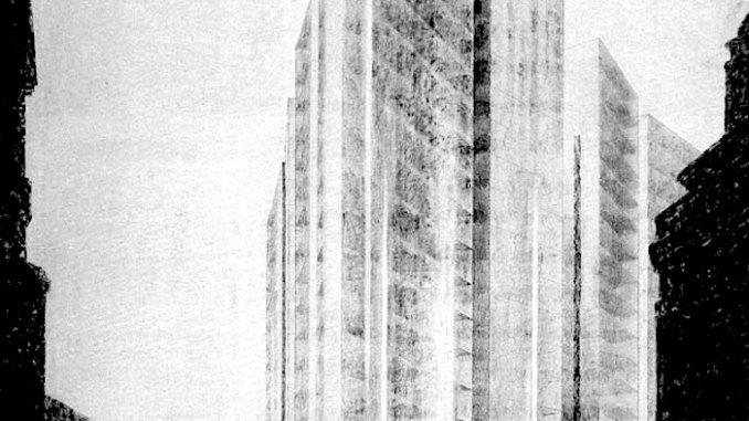 beehive mies-van-der-rohe Friedrichstrabe