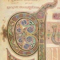 Illuminated Letters - Synopsis of the Lindisfarne Gospels