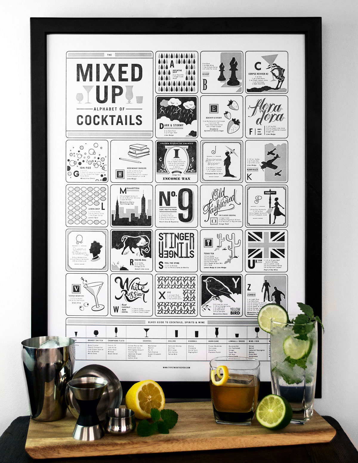 The Mixed Up Alphabet Of Cocktails