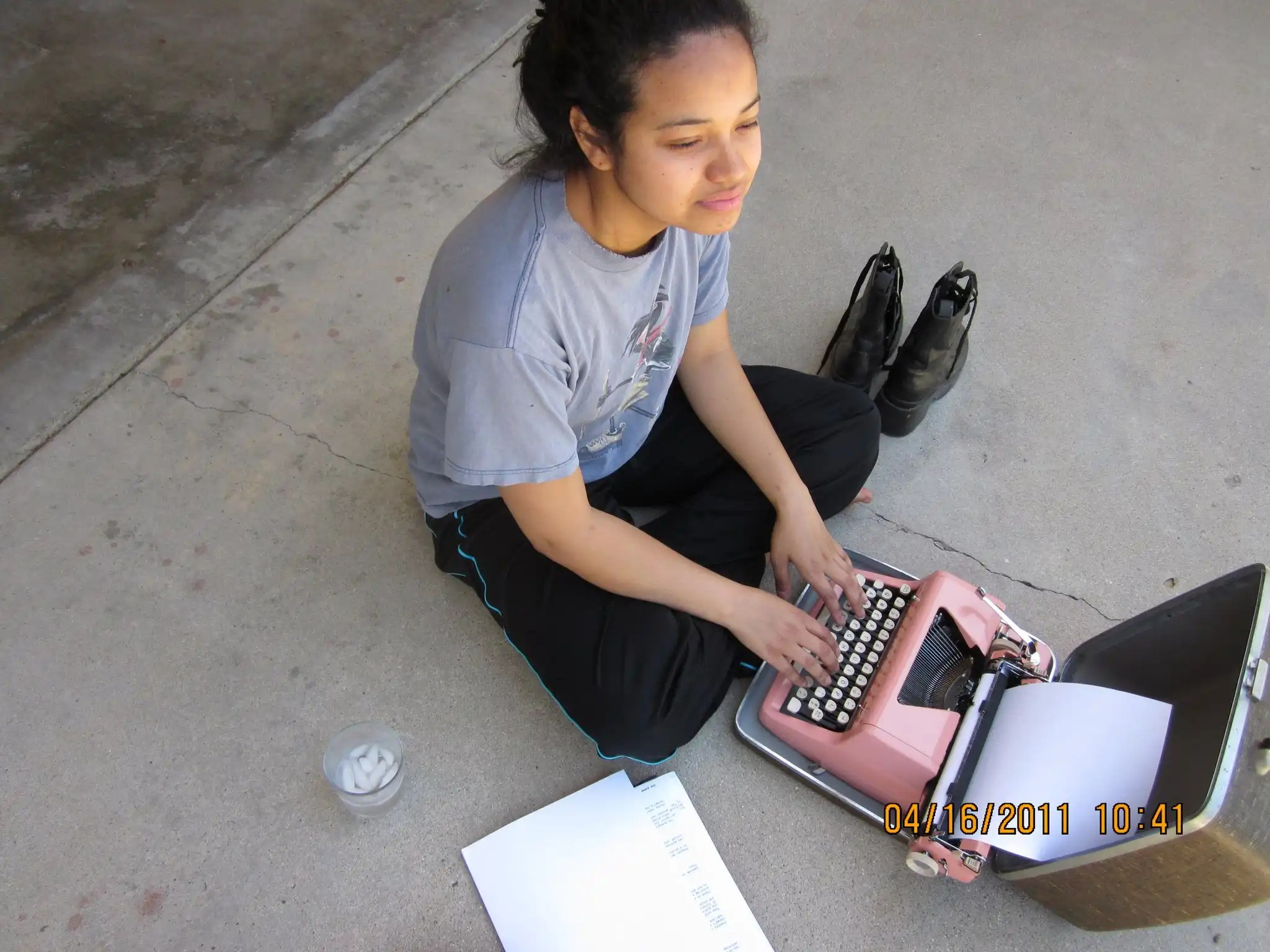 Billimarie Typewriter Poetry 2011