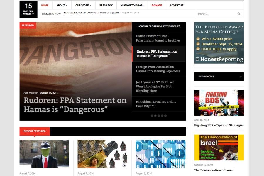 News Magazine Website
