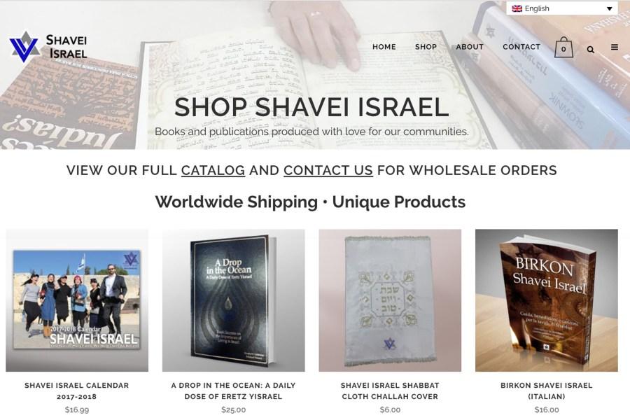 e-Commerce Storefront Website