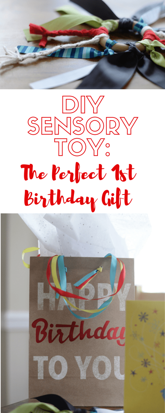 diy sensory toy first birthday gift