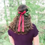 DIY Fall Floral Crown