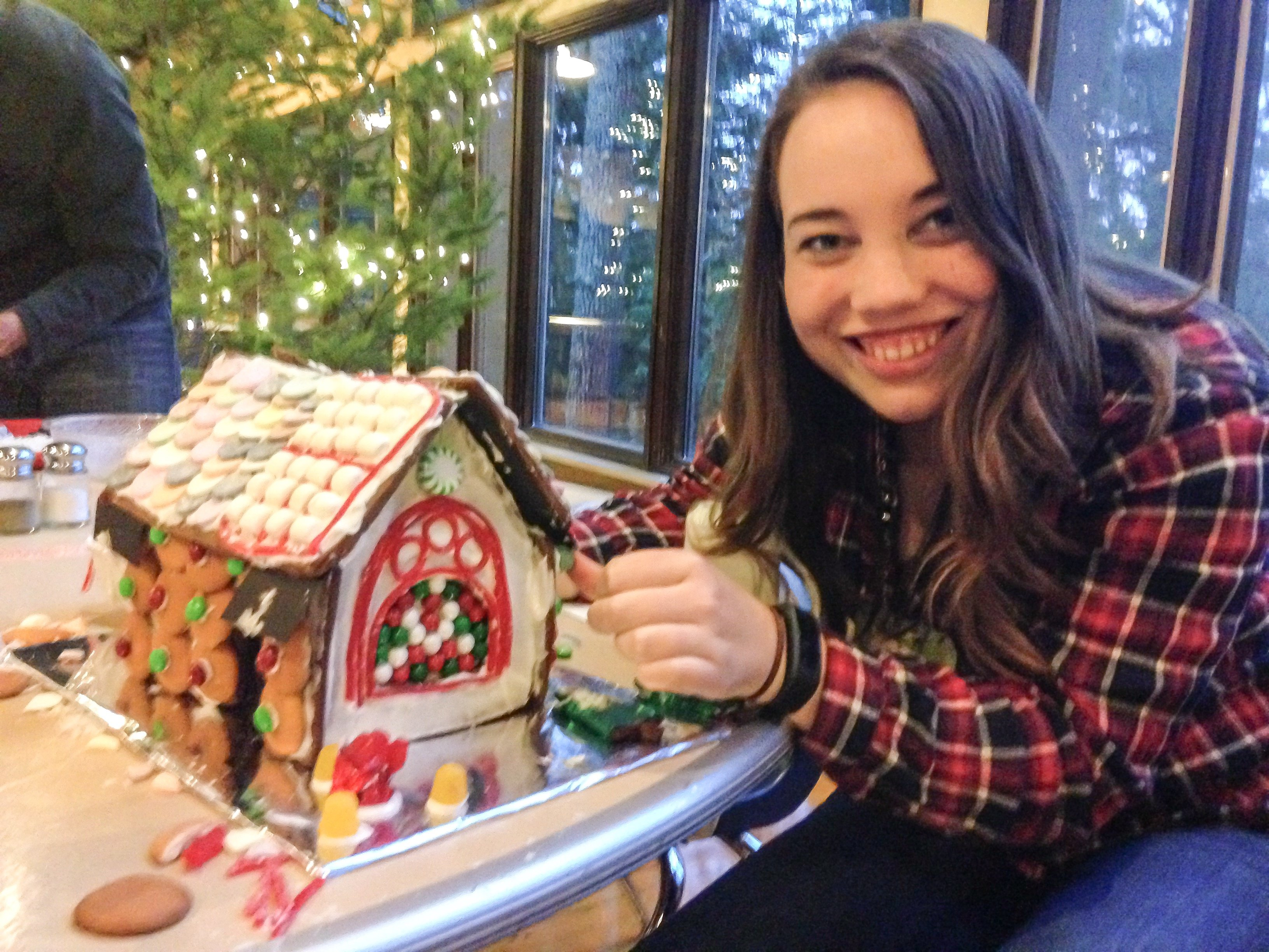 Building a Gingerbread House - Winter Date Night Ideas