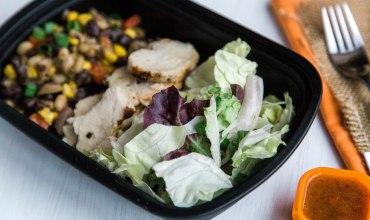 Sous Vide Southwest Chicken Salad Meal Prep