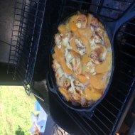 Camping Breakfast Peach Cobbler