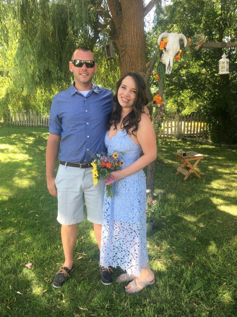 country summer wedding attire