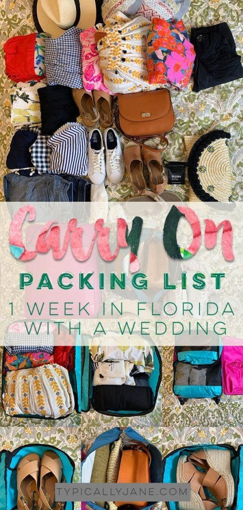 carry on packing list