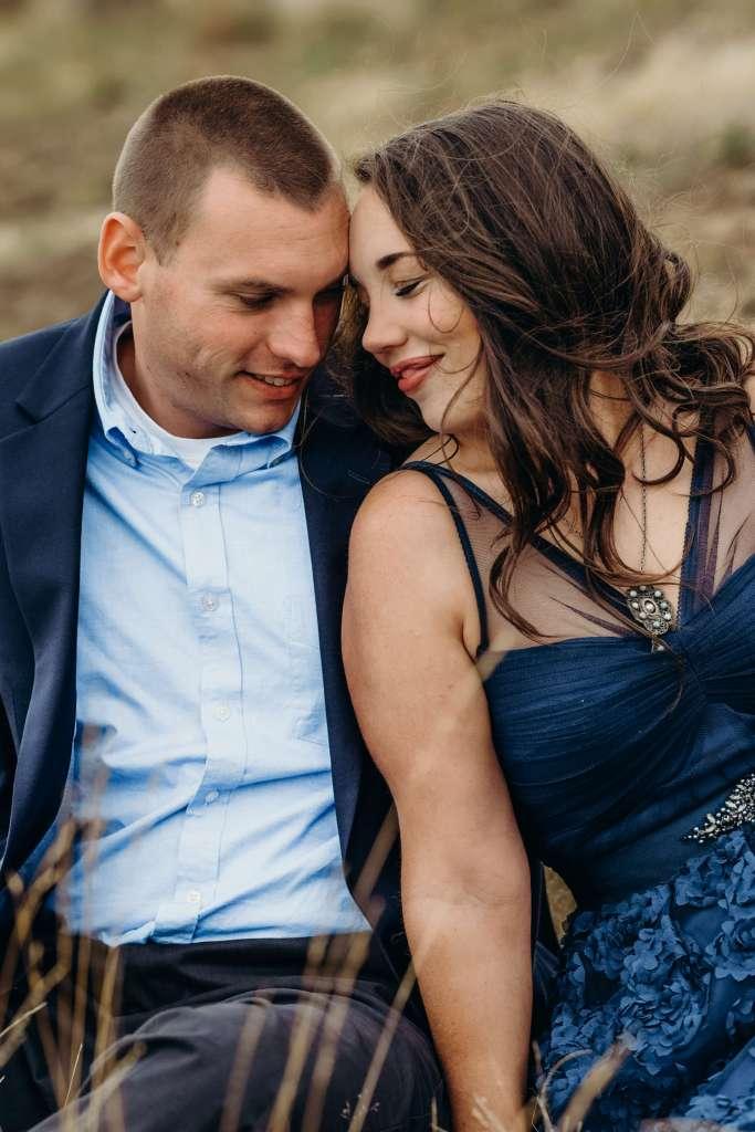 engaged couple photos