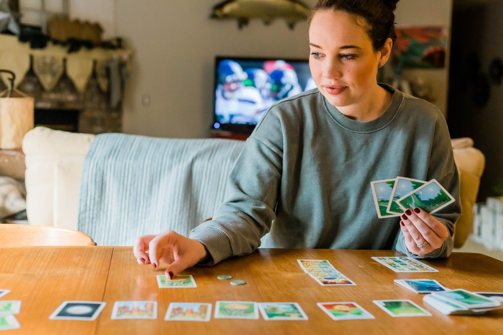 two person board game Morels, date night, game night, date night at home ideas