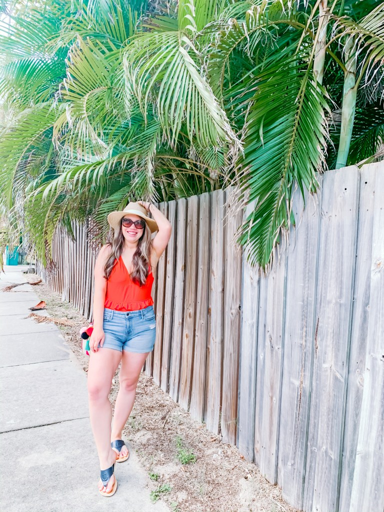 Melbourne Beach Florida Beach vacation outfit ideas, swimsuit