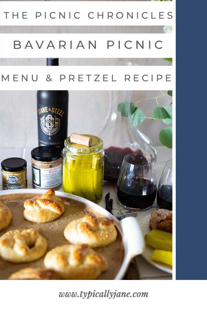 picnic chronicles bavarian picnic menu and pretzel recipe copy