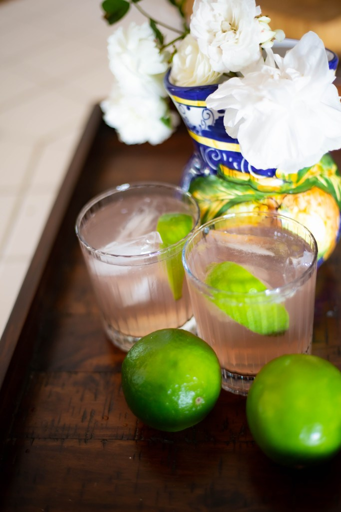 Serving the perfect crisp and refreshing summer cocktail!