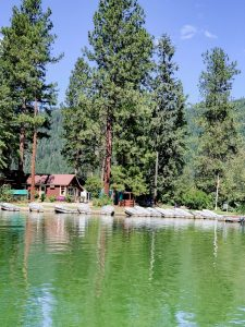 The Cove Resort at Fish Lake store and boats