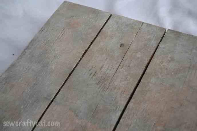 DIY Wood Photography Background
