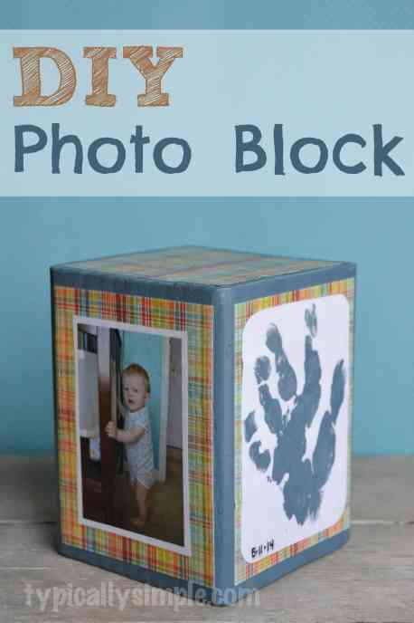 DIY photo block