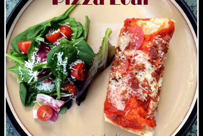 Baked Pizza Loaf Recipe