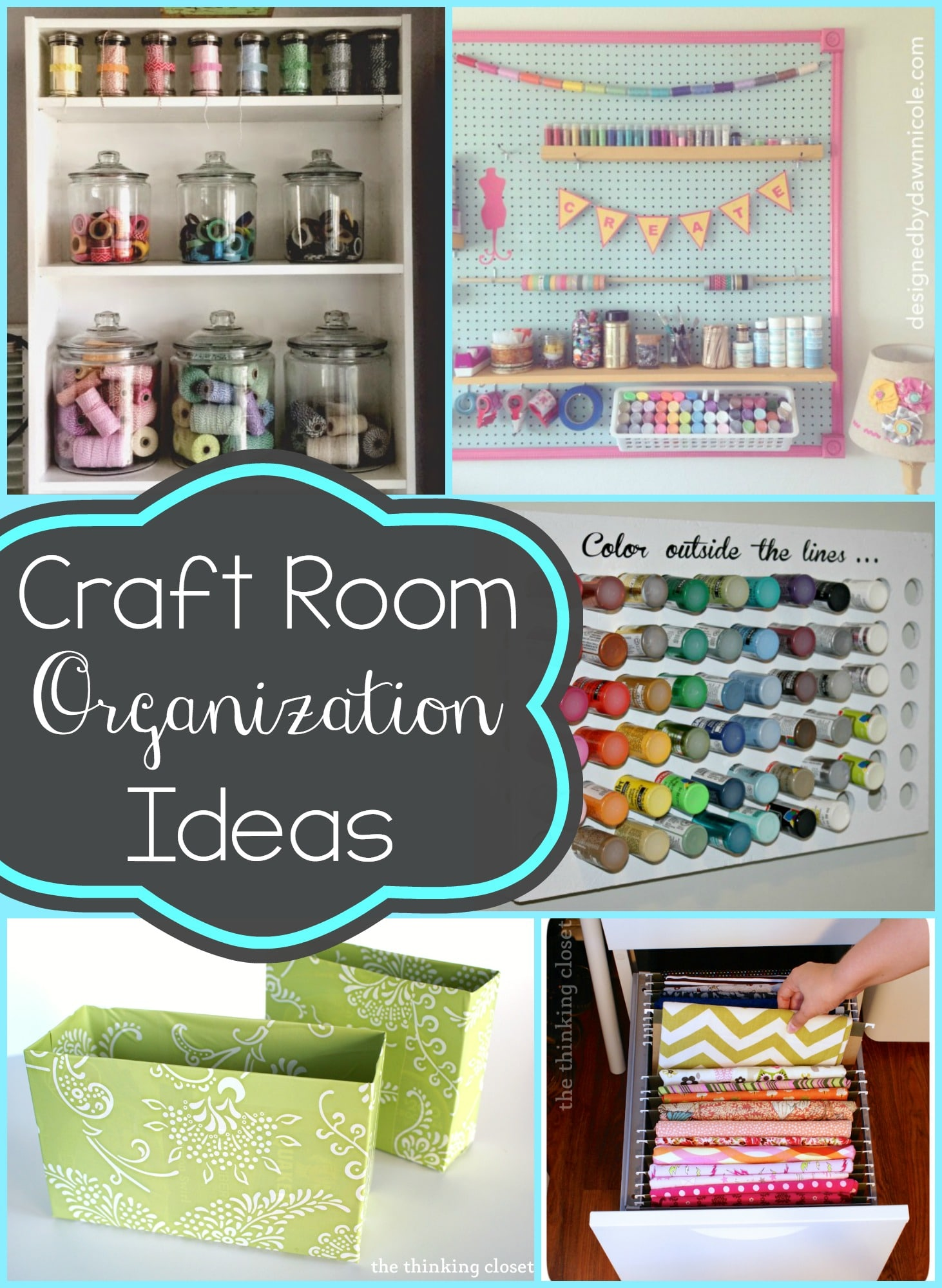 Ideas For Organizing Your Craft Room