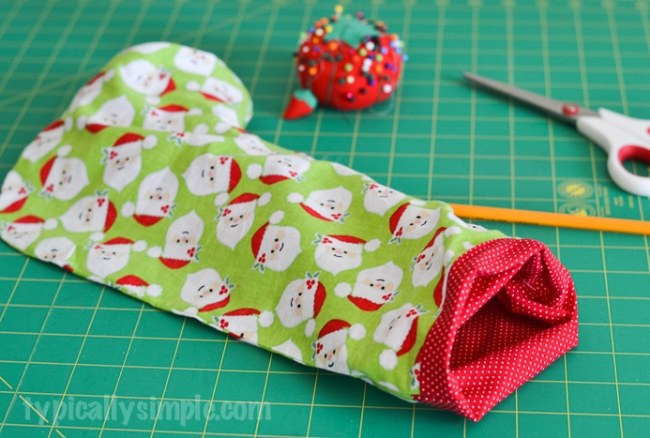 Christmas Stocking – Sewing Tutorial