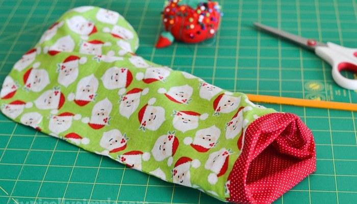 Christmas Stocking – Sewing Tutorial
