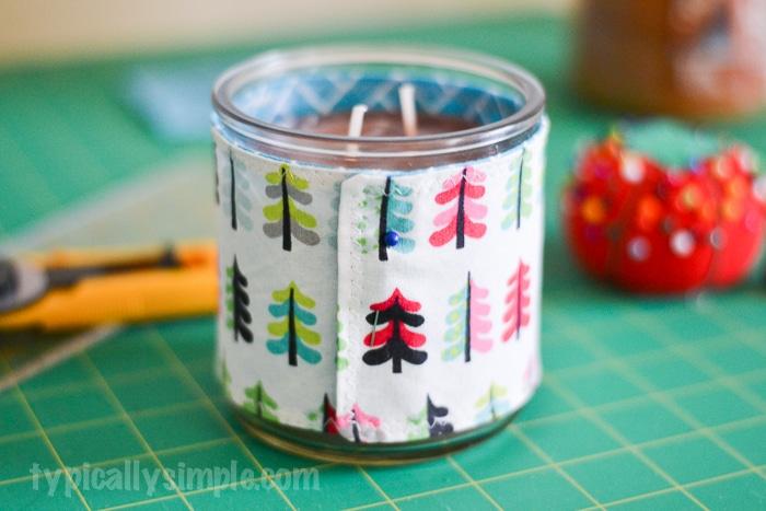 candle cozy tutorial