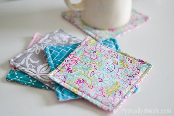 Fabric Mug Rug Sewing Tutorial