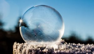A Frozen Ball of Ice