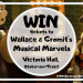 Wallace & Gromit Giveaway