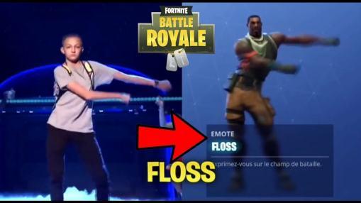 Floss Dance Fortnite