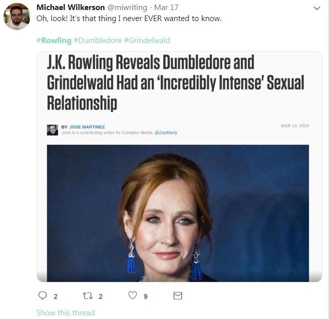The Best Of J K Rowling Tweet Parodies Know Your Meme