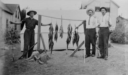 Pêcheurs de la région de Memphrémagog