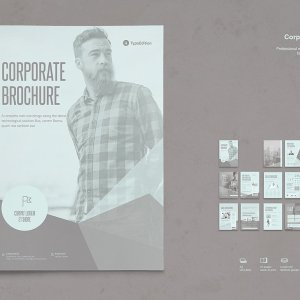 brochure indesign template