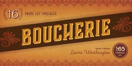 boucherie-vintage-font