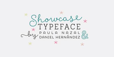 showcase-handmade-font