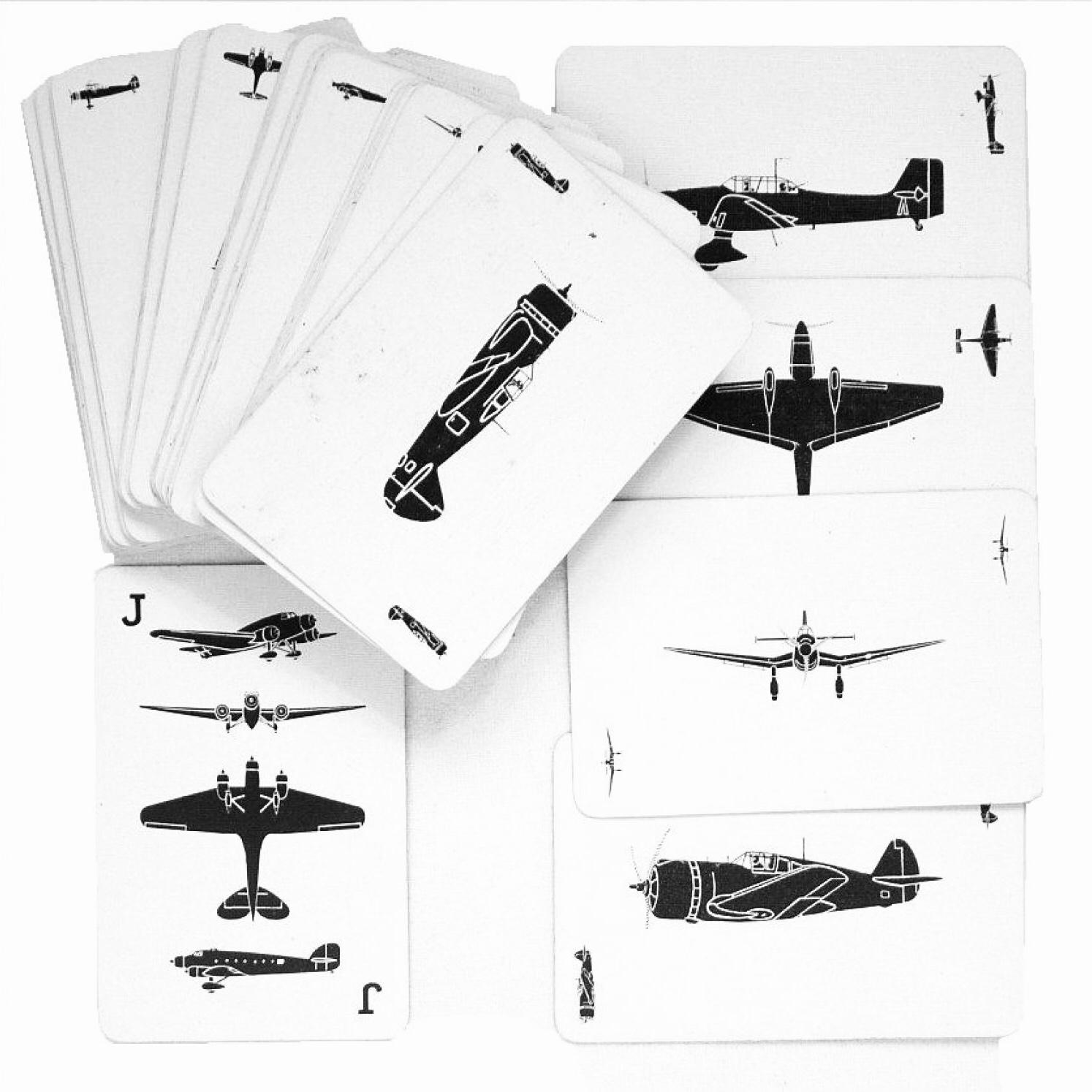 Inspiration: Aircraft Identification Cards