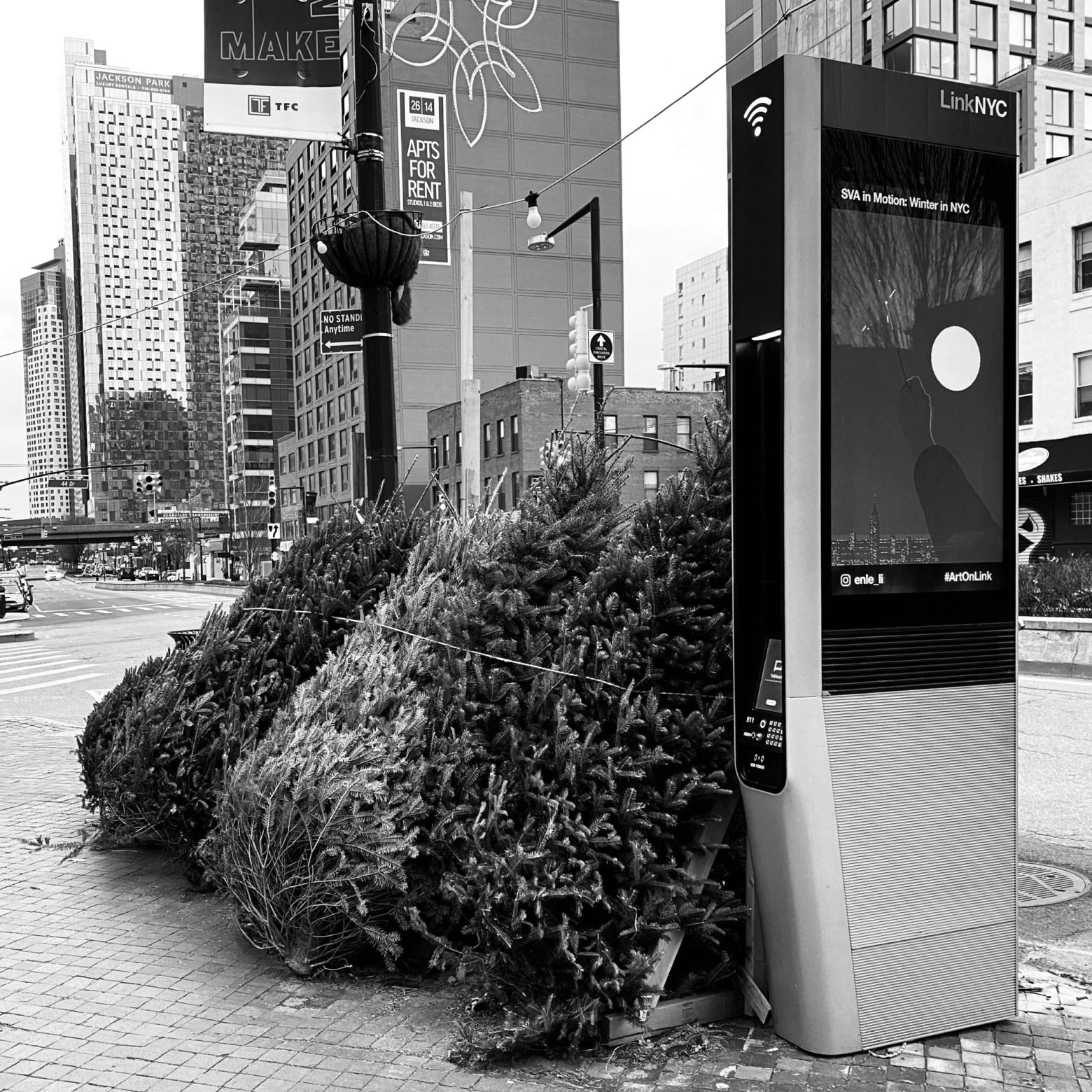 Christmas Trees & LinkNYC